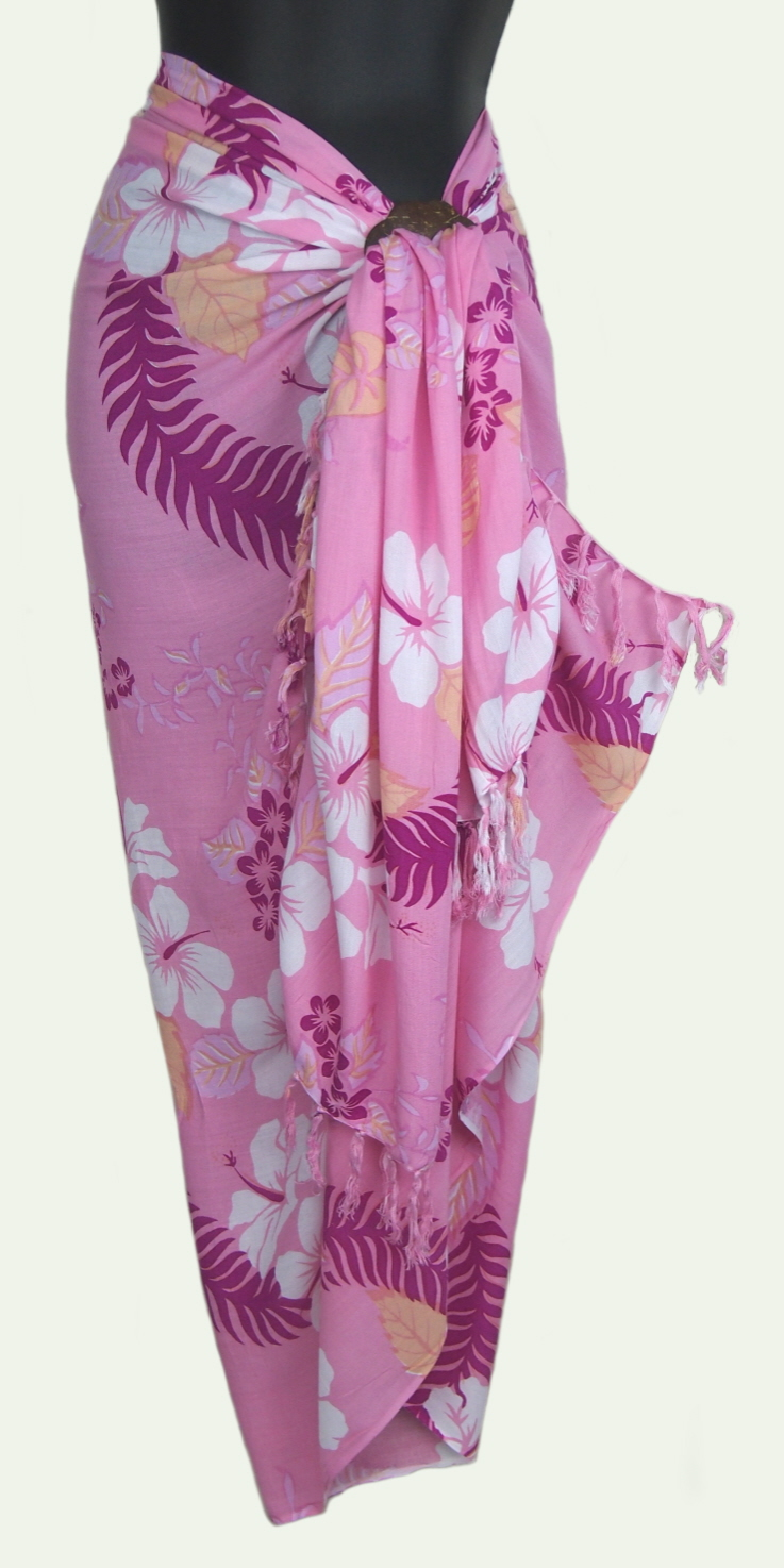 Sarongsetc Com Hawaiian Floral Sarongs
